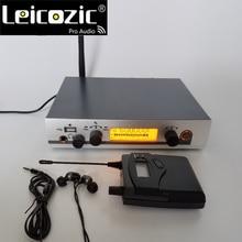 Leicozic New Wireless monitor system EW G3 1 Receiver 1 Transmitter IEM 300G3 monitoring system musical instruments dj equipment