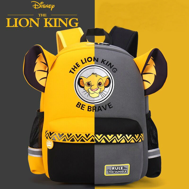 Hot Genuine Disney Simba The Lion King Backpack Kids Boys Cartoon Lion King School Bags Girls Baby Children Toy Chiristmas Gift