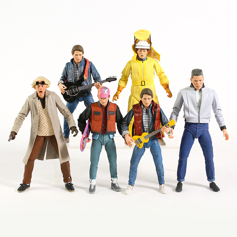 NECA Back to the Future Ultimate Marty McFly Doc Brown Biff Tannen 7