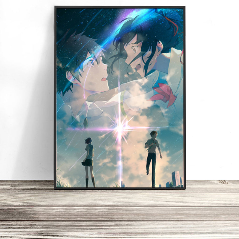 Nordic-Print-Home-Decor-Painting-Anime-Your-Name-Picture-Wall-Art-Modular-Canvas-Watercolor-Poster-Modern (9)