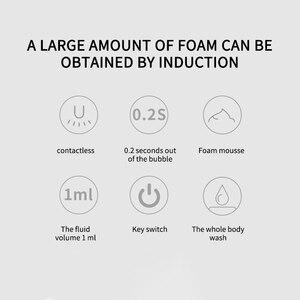 Image 4 - Distributore automatico di Sapone Touchless Schiuma Sensore di Movimento A Infrarossi Hands Free Sapone Pompa Dispenser Per Il Bagno Cucina 300ml