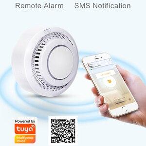Image 4 - Smart Home Automation Wifi Smart Smoke Detector Tuya Smart Life Fire Alarm Sensor Home Security System