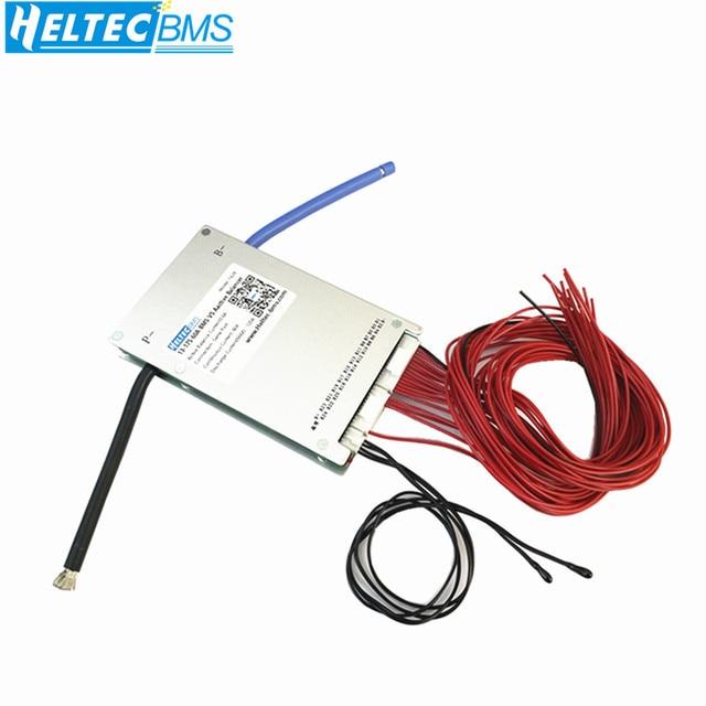 Active Equalizer Balancer Vs Bms สมาร์ท BMS 13S 14S 15S 16S 17S  20S 60A 120A RS485 APP Lifepo4 Li Ion 48V 52V 60V