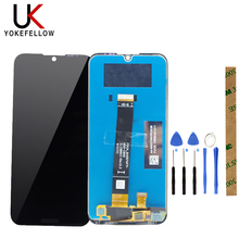 100% Tested LCD Display Touch Screen Digitizer For Huawei Honor 8S LCD Screen KSE LX9 KSA LX9 Replace