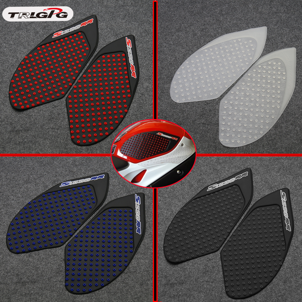 For BMW S1000RR S1000 RR 2009- 2016 2015 2014 2013 12 Protector Anti Slip Tank Pad Sticker Gas Knee Grip Traction Side 3M Decal
