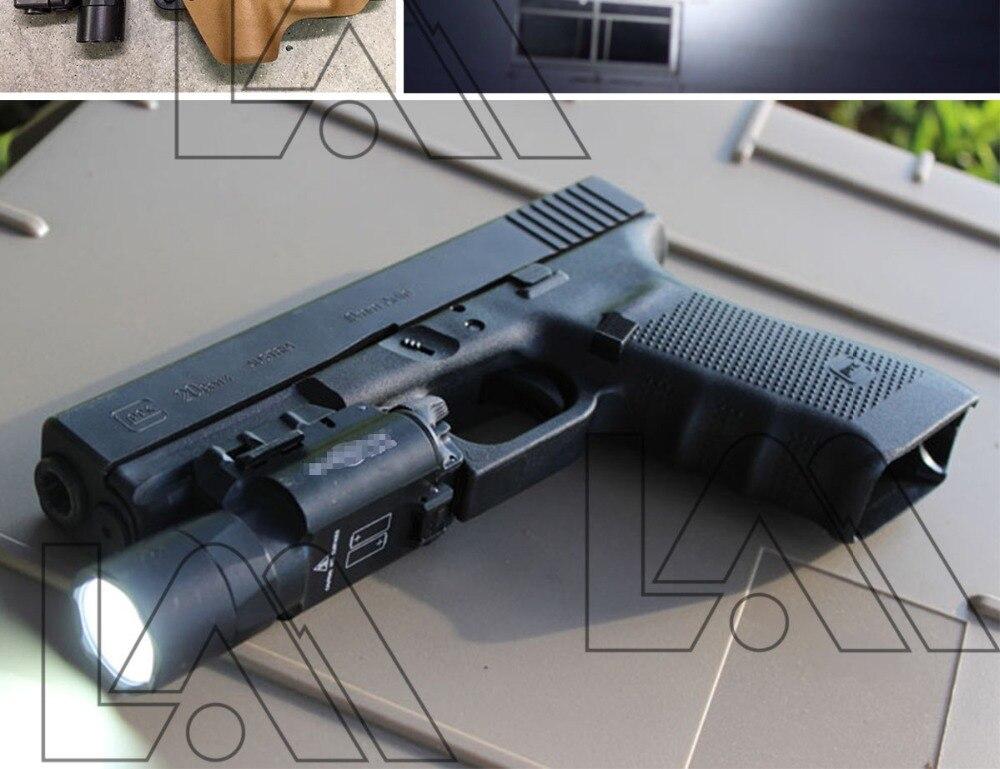 lanterna led arma tocha para 20mm