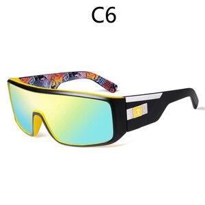 Image 4 - Viahda 2020 New Windproof Sunglasses Fashion Big Frame Brand Designer Women De Sol UV400 With Case