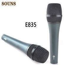 شحن مجاني ميكروفون E835 سلكي ديناميكي قلبي صوتي احترافي ميكروفون e835 ستوديو Mic E845 E835 E828