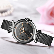 Luxury Fashion Stainless Steel Ladies Wrist Watches