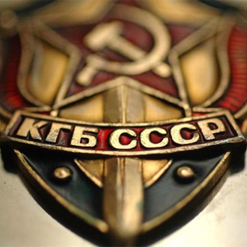 New Men & Women High Quality Belt 3D Soviet Glory KGB Canvas...