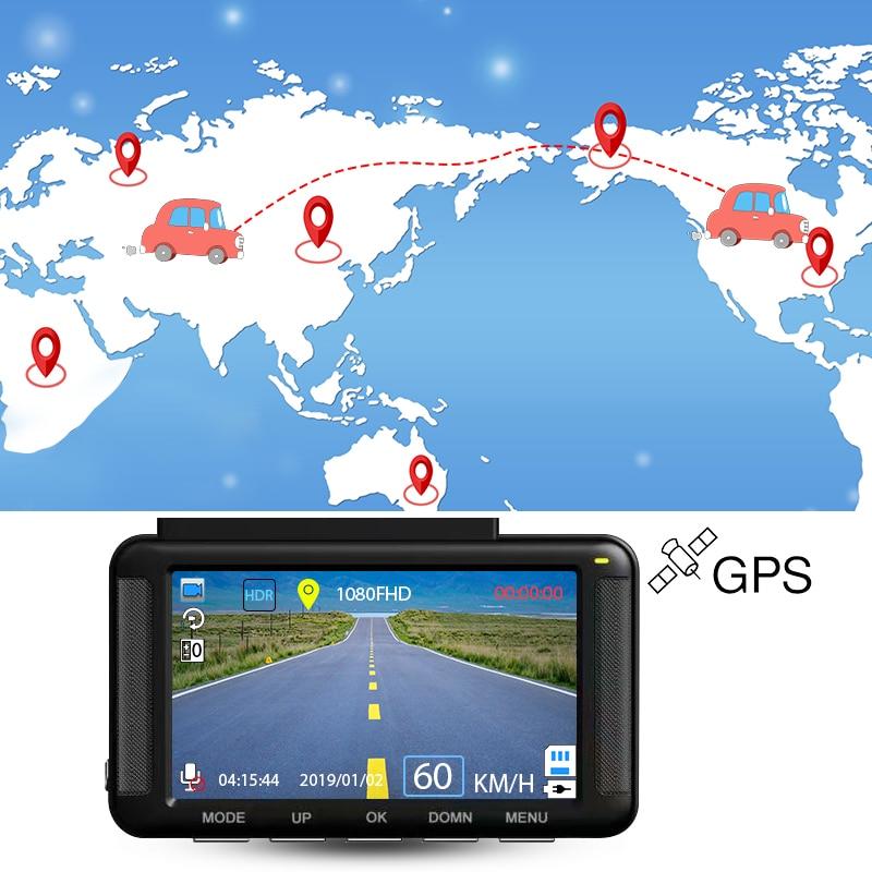 E-ACE B37 Auto DVR 3 Zoll mini Dash Cam Full HD 1080P Auto Kamera Video Recorder Mit GPS Tracker nachtsicht Auto Registrator