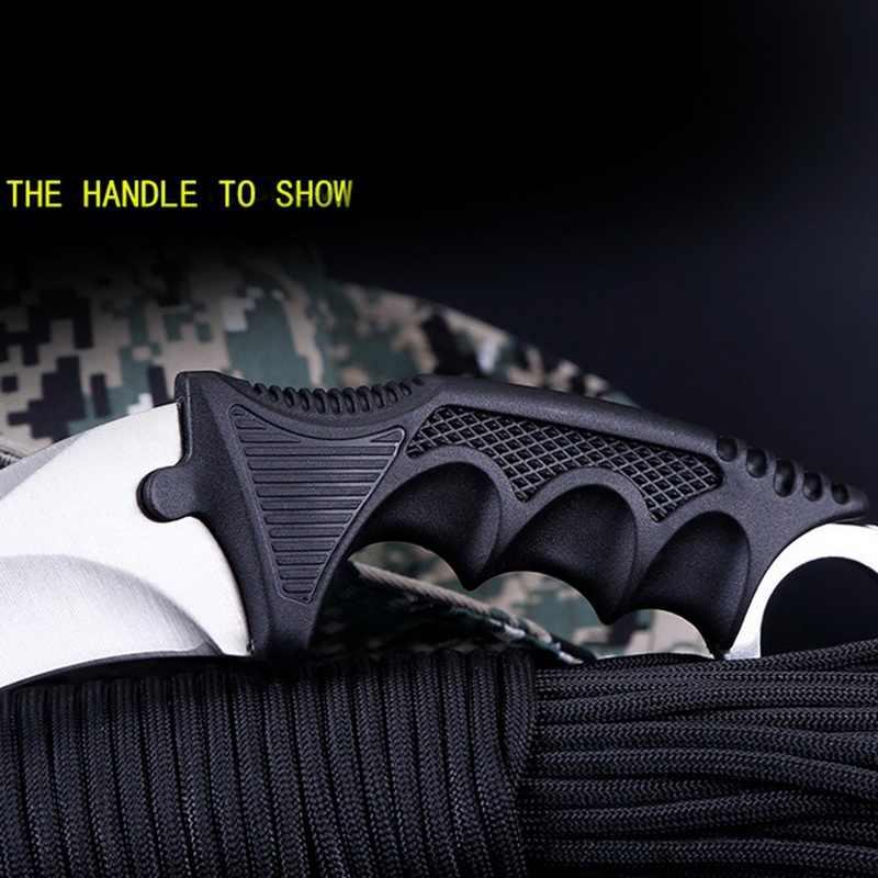 Csgo النسر مخلب سكين أداة خارجية صلابة عالية متعددة الوظائف الدفاع عن النفس المحمولة سكين مخلب سكين فراشة