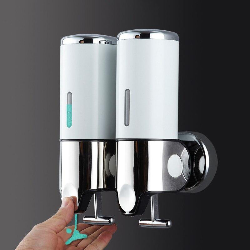 500ml Wall Mount ห้องน้ำอุปกรณ์เสริม Hand Sanitizer ผงซักฟอกแชมพู Dispensers สบู่ขวด