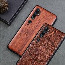 Funda de teléfono para Xiaomi funda de madera Boogic para Xiaomi Mi Note 10 Pro, accesorios para teléfono