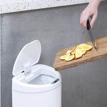 xiaomi smart trash bin Home & Garden sensor LED cover garbage 8 / 10L ninestars can home 5
