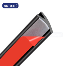Auto-Interior-Accessories Protector-Strips Car-Seal Rubber Noise-Insulation-Seals Scratch