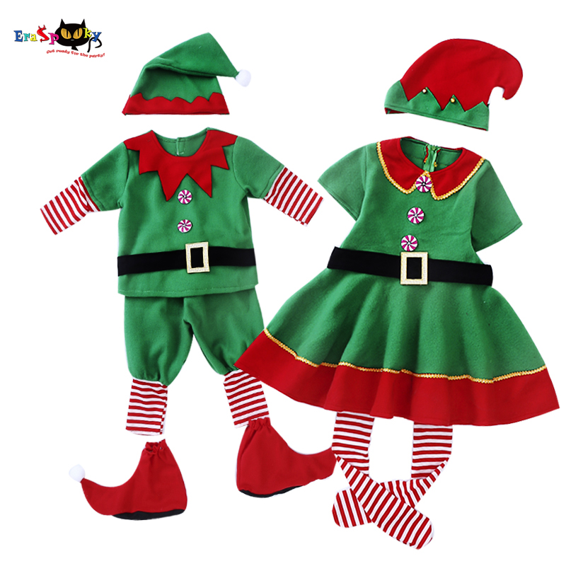Elf in Charge Child//Toddler Elf Costume Christmas