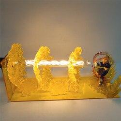 لعبة دراغون بول Z فيغيتا LED الجدول مصباح Led الزخرفية ضوء امبارا للمنزل الديكور لعبة دراغون بول سوبر فيغيتا الشكل عيد الميلاد هدية