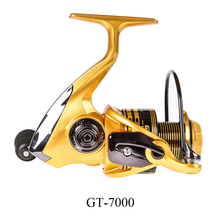 14 Axis Unloading Force Spinning Saltwater Boat Reverse Wire Cup Fishing Reel Metal Spoon Wheel With Handle Folding Ball Bearing