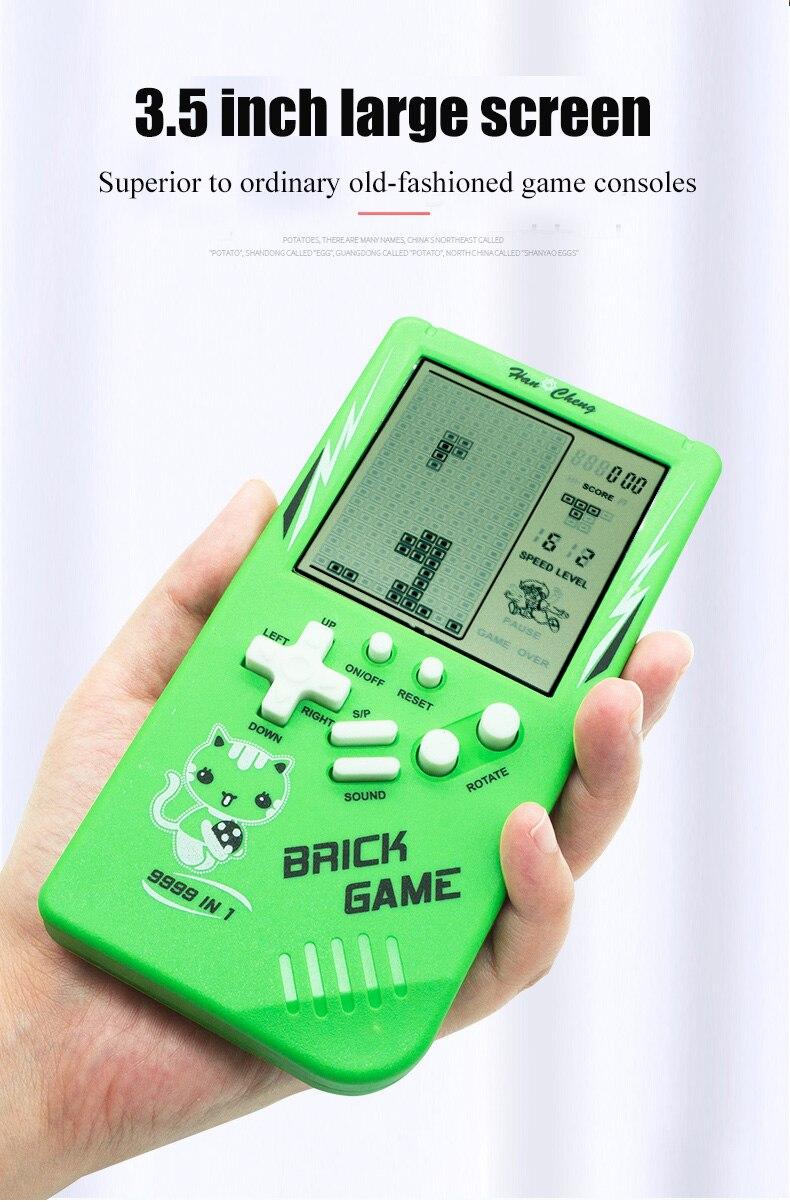 Retro Electronic Tetris Brick Game