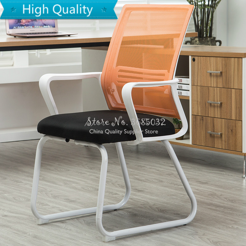 New Computer Breathable Backrest Chair  Staff Conference Student Dormitory Chairs Modern Simple For Home & Office