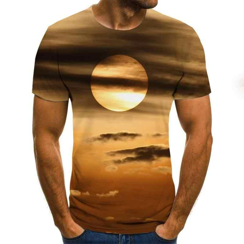2020 夏のスタイル男性の女性のファッション半袖おかしい tシャツ 3d プリントカジュアル tシャツ
