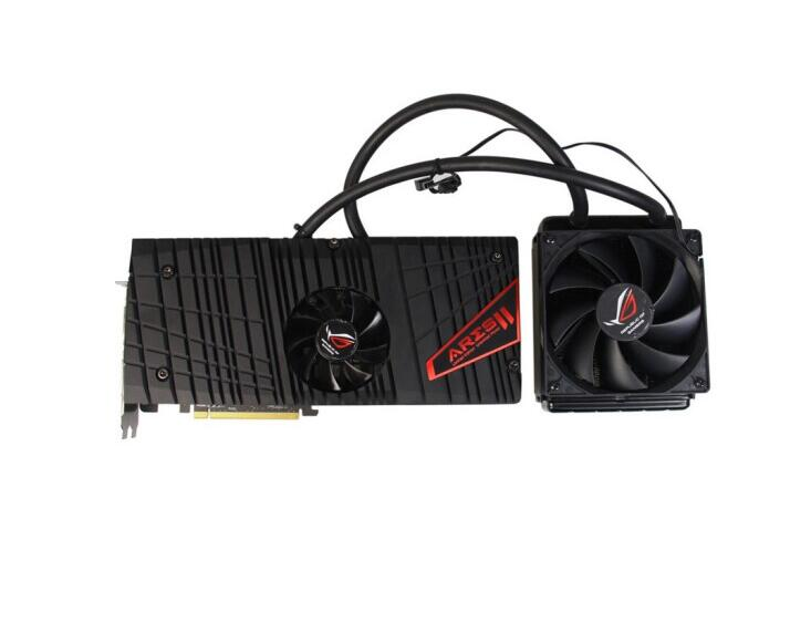 ASUS ARES2-6GD5 768bit Tahiti XT Graphics Card ,Out Of Print Graphics, Collectible