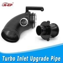 цена на R-EP Turbo Inlet Outlet Upgrade Pipe Kit Turbo Muffler Delete Fits for Golf7 Audi A3 8V S3 S1 TT leon EA888 Gen3 1.8T 2.0T