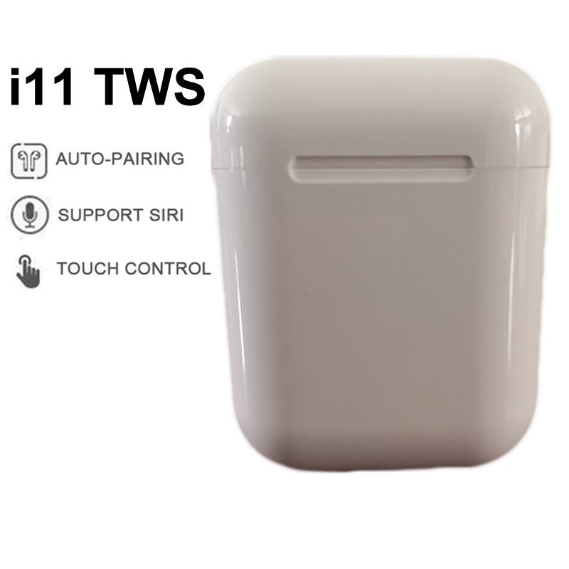 I11 TWS Wireless Earphone Mini Bluetooth 5.0 Earbuds Stereo Sport Headset Mic Cordless Handsfree Airpots Airpodering Pro