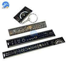4CM 15CM 20CM 25CM משולב PCB שליט מדידת כלי הנגד קבלים שבב IC SMD חבילה יחידות