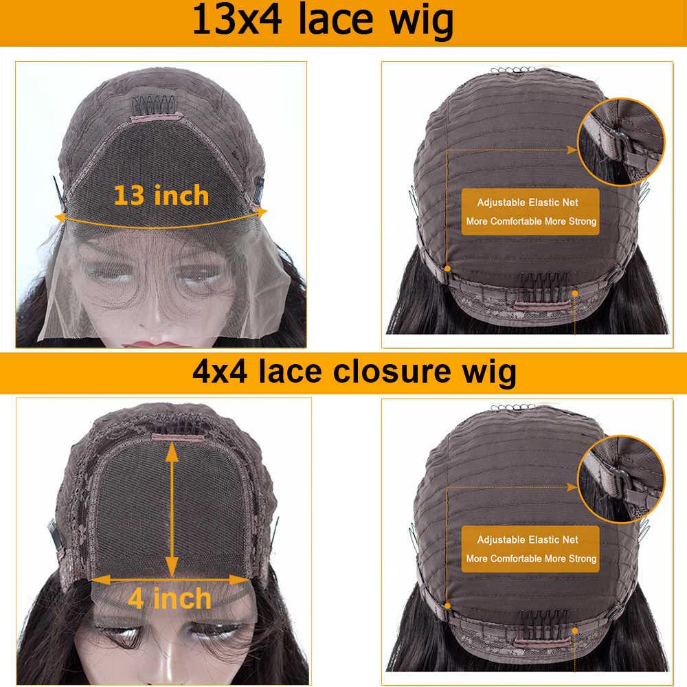 4x 4/13x4 парик с глубоким кудрявым Бобом бразильские волосы с волнистым закрытием парики с детскими волосами кружевные передние человеческие волосы парики