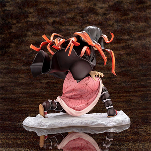Image 3 - Iblis avcısı Kimetsu hiçbir Yaiba Artfx J Nezuko Kamado Tanjiro Kamad PVC Action Figure Anime şekilli kalıp oyuncak koleksiyonu bebek hediye