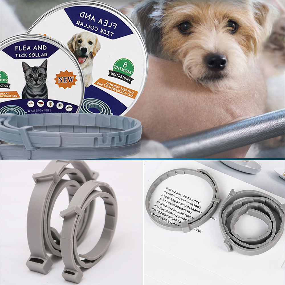 Guard Flea And Thick Collar For Dogs