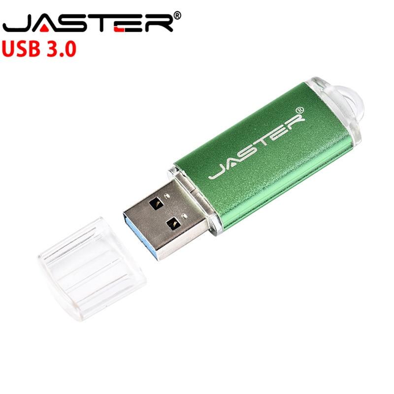 New Usb 3.0 JASTER USB Flash Drive 128GB 64GB Metal Pen Drive 8GB 16GB 32GB High Speed USB Stick Pendrives For Computer