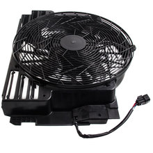 A/C Ac Radiator Condensor Koeling Pusher Fan 5 Blades Voor Bmw X5 E53 00 06 E53 Serie 64546921381 Voor 3.0 4.4 4.6