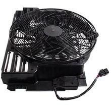 A/c acラジエーターコンデンサー冷却プッシャーファン 5 ブレードbmw X5 E53 00 06 E53 シリーズ 64546921381 3.0 4.4 4.6