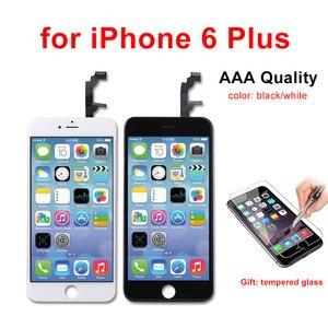 Image 5 - AAA kalite LCD ekran iPhone 6 6 artı 5 5S 5C 5 LCD ekran dokunmatik ekran Digitizer meclisi Pantalla siyah/beyaz Ecran
