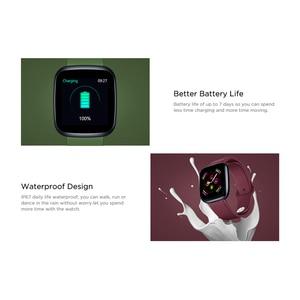 Image 3 - [Value King]Zeblaze Crystal 3 Smartwatch WR IP67 Heart Rate Blood Pressure Long Battery Life IPS Color Display Smart Watch