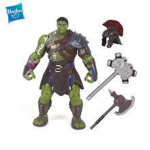Hasbro Super Thor superhéroe 3 Ragnarok martillo de guerra hacha de batalla gladiador Hulk PVC figura de acción de juguete de modelos coleccionables para niños regalo