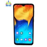 Gerenoveerd Ontgrendeld Mobiele Telefoon Samsung Galaxy A20 6.4Inch Full Screen 3Gb + 32Gb Single/Dual Sim octa Core 4G-LTE