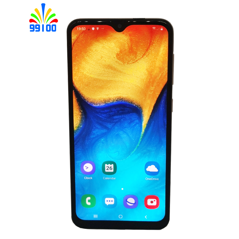 Unlocked Cell Phone Samsung Galaxy A20 6.4inch Full Screen 3GB+32GB single/dual Sim Octa Core 4G LTE|Cellphones| - AliExpress