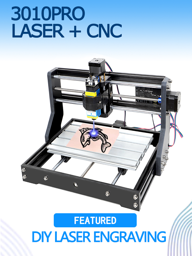 Laser-Engraving-Machine Cutting Woodworking Diy Laser Cnc 3018 Milling 3-Axis Pro Offline