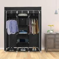 Non woven Cloth Wardrobe DIY Portable Storage Closet Folding Dustproof Clothing Storage Cabine Closet Cabinet Bedroom Furniture