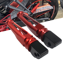 For Yamaha YZF R1 R6 MT-03 MT-07 MT-09 XSR900 XSR700 T-MAX530 500 XJR1300 XJR 1300 Rear Foot rests pegs Pedals Moto Parts