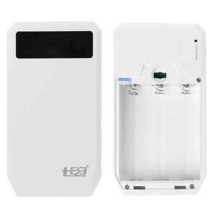 Image 2 - (Bez baterii) podwójny USB QC 3.0 mocy wyjściowej 3x18650 baterie DIY opakowanie na Power Bank etui na uchwyt szybka ładowarka do telefonu komórkowego Tablet z funkcją telefonu PC