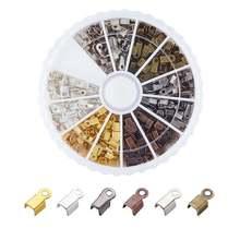 420 шт/кор смешанный 6 цветов Железный Складной обжима концов