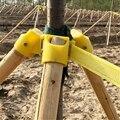 Baum Unterstützung Rahmen  Landschaftsbau Halterung Halter  Banding Set Für Landschaftsbau-in Pflanzkäfige & Stützen aus Heim und Garten bei