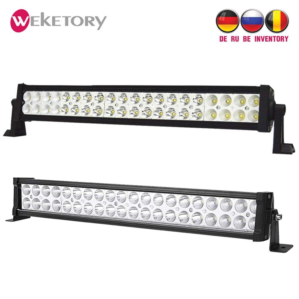 LED Work Light 22 inch LED Bar 120W LED Light Bar for Work Driving Boat Car Truck 4x4 SUV ATV Off Road Fog Lamp