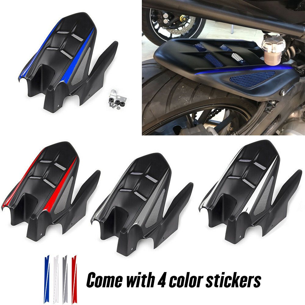 Motorcycle Rear Mudguard Tire Hugger Fender Plastic For Yamaha MT07 FZ07 MT-07 FZ-07 2013 2014 2015 2016 2017 2018 2019