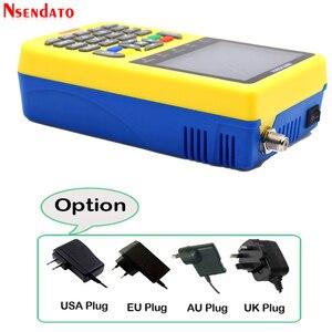 Image 5 - 3.5 inç LCD V8 bulucu HD DVB S/S2 dijital uydu bulucu HD H.264 MPEG 4 DVB S S2 uydu ölçer tam 1080P FTA Satfinder